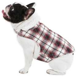 UGG Oakland Redwood Plaid Dog Coat