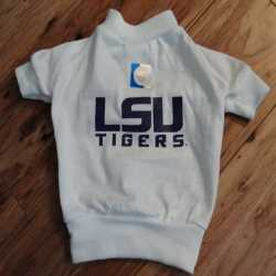 LSU Tigers Dog Tee Shirt