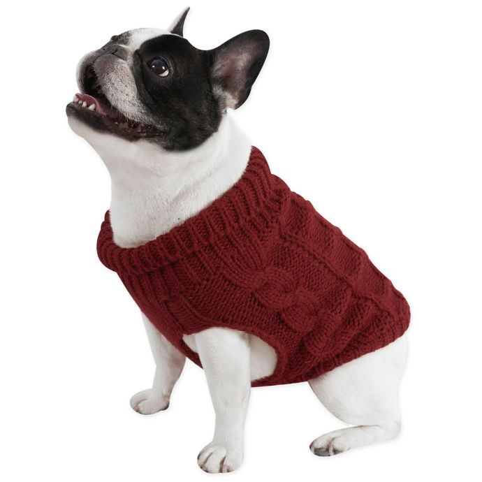 9c4cb62b2 Red Cable Knit Dog Sweater by UGG