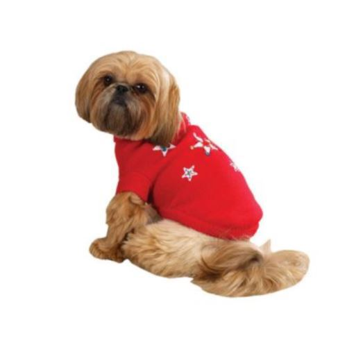 Blinking Star Dog Sweater Xxs Size