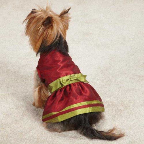 1799 1349 description share this shimmering red dog christmas dress