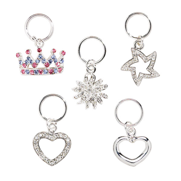 Dazzling Dog Collar Charm Selection