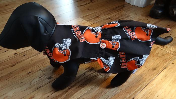 the best attitude 5b4f9 ec100 Cleveland Browns Dog Sun Dress Size Small