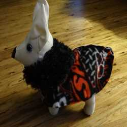 NASCAR Theme Fleece Dog Coat