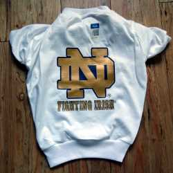 Notre Dame Fighting Irish Dog Tee Shirt