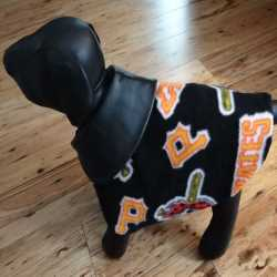 Pittsburgh Pirates Fleece Dog Coat XS Size