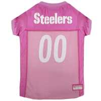 Pittsburgh Steelers Pink Dog Jersey XS Size